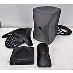 Polycom SoundStation2 Conference Phone Base Unit - Lot of 4 - RRP=$500.00