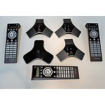 Polycom HDX Tabletop Microphone and Remote Controls - RRP=$850.00