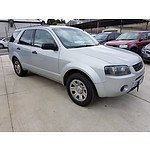 10/2005 Ford Territory TX (rwd) SX 4d Wagon Silver 4.0L