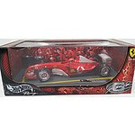 HotWheels Racing 1:18 Scale Model Michael Schumacher 2003 World Champion - Limited Edition