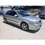 3/2003 Mazda 323 Astina SP20  5d Hatchback Silver 2.0L