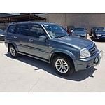 11/2004 Suzuki Xl-7 (4x4) JA627 4d Wagon Grey 2.7L