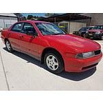 11/1997 Mitsubishi Magna Advance TF 4d Sedan Red 3.0L