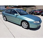 5/2002 Holden Commodore Equipe VXII 4d Sedan Green 3.8L