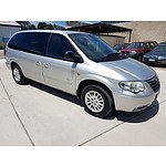 11/2007 Chrysler Grand Voyager LX  4d Wagon Silver 3.3L