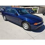 8/1996 BMW 528i  4d Sedan Blue 2.8L