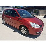6/2007 Renault Scenic Ii Dynamique J84 MY07 4d Wagon Red 2.0L