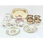 Collection of English China, Including Royal Staffordshire, Grafton China, Melba China, and More