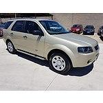 10/2006 Ford Territory TX (rwd) SY 4d Wagon Gold 4.0L