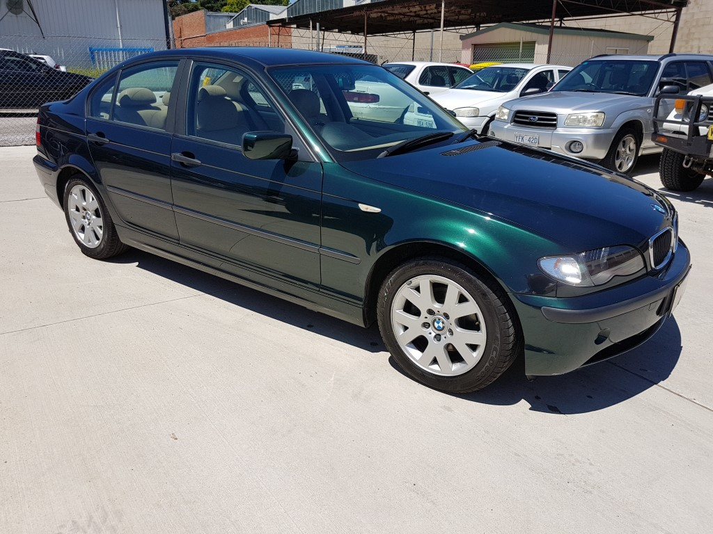 11 2002 Bmw 318i E46 4d Sedan Green Lot 900054 Allbids