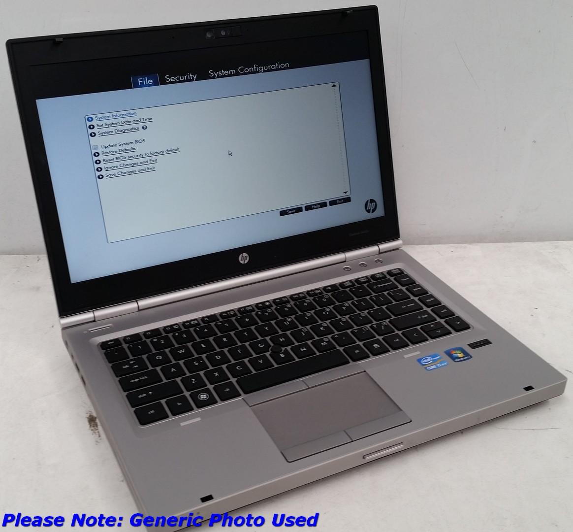 Hp Elitebook 8460p 13 3 Inch Widescreen Core i5 -2540M Mobile 2 6GHz Laptop
