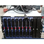 Dell PowerEdge 1855 Dual Xeon 2.8GHz Blade Server Chassis with 8 Blade Servers