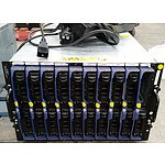 Dell PowerEdge 1855 Dual Xeon 2.0GHz Blade Server Chassis with 10 Blade Servers