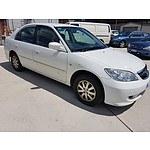 11/2005 Honda Civic GLi 7TH GEN 4d Sedan White 1.7L