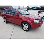 12/2006 Ford Territory GHIA (4x4) SY 4d Wagon Red 4.0L - 7 Seats