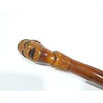 Carved Maori Walking Stick