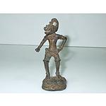 Antique Cast Figure of Hanuman
