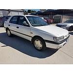 4/1994 Nissan Pulsar LX  5d Hatchback White 1.6L