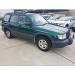 10/1997 Subaru Forester RX Limited  4d Wagon Green 2.0L
