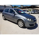 12/2006 Holden Astra CD AH MY07 4d Hatch Grey 1.8L