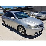 10/2003 Honda Accord EURO  4d Sedan Silver 2.4L