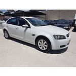 1/2009 Holden Commodore Omega VE MY09.5 4d Sedan White 3.6L