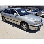 3/2006 Hyundai Elantra FX 2.0 HVT XD MY05 4d Sedan Silver 2.0L