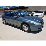 2/2005 Holden Commodore Acclaim VZ 4d Sedan Blue 3.6L