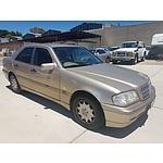 10/1999 Mercedes-Benz C180 Classic W202 4d Sedan Beige 1.8L