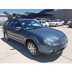 6/2005 Subaru Outback 4d Wagon Blue 2.5L