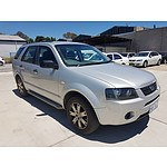 3/2007 Ford Territory SR SY 4d Wagon Silver 4.0L