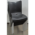 Siesta Cafe Chairs - Lot of Seven