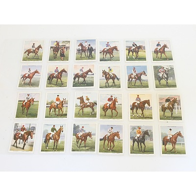 Collection of Horse Racing Cigarette Cards