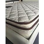 Brand New Tiber Executive 5 Star Australian Comfort Pillow Top Pocket Spring Queen Mattress- RRP: $1499