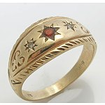 9ct Gold Antique style Ring