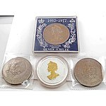 UK Crown-sized Coins & Medals
