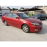 4/2005 Toyota Camry Sportivo MCV36R UPGRADE 4d Sedan Red 3.0L