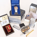 Seiko Gentleman's Wrist Watch, Dunhill Lighter, Zippo and More