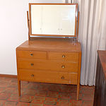 Australian Silky Oak Dressing Table Circa 1940
