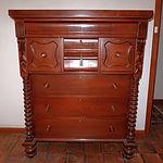 Large Antique Australian Cedar Chest of Drawers Circa 1880