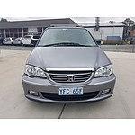 6/2003 Honda Odyssey (7 Seat)   4d Wagon Grey 2.3L