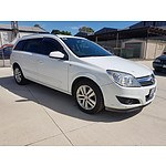 6/2008 Holden Astra CDTi AH MY08.5 4d Wagon  1.9L