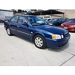 4/2004 Kia Optima  GD 4d Sedan Blue 2.7L