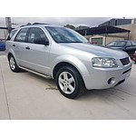 3/2008 Ford Territory TS (rwd) SY MY07 UPGRADE 4d Wagon Silver 4.0L - 7 seats