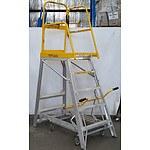 Stockmaster Navigator Mobile Platform Ladder