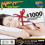$1000 Makin Mattresses Gift Voucher