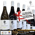 Mixed Half Dozen 1 x 2014 Pear Tree Pinot Gris and 5 x 2013 Pear Tree Pinot Noir