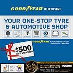 Goodyear Autocare Gungahlin - $500 Gift Voucher