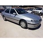 8/1999 Peugeot 406  D8 4d Sedan Silver 2.0L