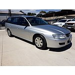 10/2005 Holden Commodore Executive VZ 4d Wagon Silver 3.6L